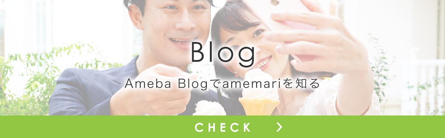 Ameba Blogでamemariを知る